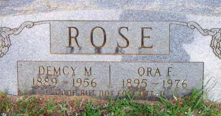 ROSE, ORA F - Scott County, Arkansas | ORA F ROSE - Arkansas Gravestone Photos