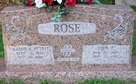ROSE, GLADYS B - Scott County, Arkansas | GLADYS B ROSE - Arkansas Gravestone Photos