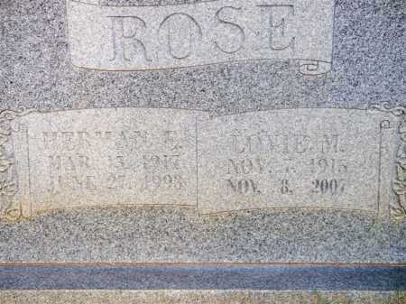 ROSE, HERMAN E - Scott County, Arkansas | HERMAN E ROSE - Arkansas Gravestone Photos
