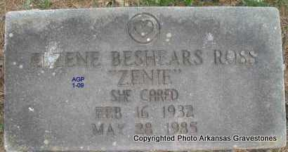 "ROSS, ELZENE ""ZENIE"" - Scott County, Arkansas 