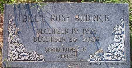 RUDDICK, BILLIE ROSE - Scott County, Arkansas | BILLIE ROSE RUDDICK - Arkansas Gravestone Photos