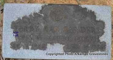 SANDERS  (VETERAN), TERRY RAY - Scott County, Arkansas | TERRY RAY SANDERS  (VETERAN) - Arkansas Gravestone Photos