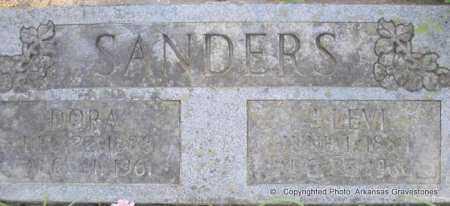 SANDERS, J LEVI - Scott County, Arkansas | J LEVI SANDERS - Arkansas Gravestone Photos