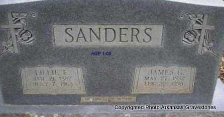 SANDERS, LILLIE E - Scott County, Arkansas | LILLIE E SANDERS - Arkansas Gravestone Photos