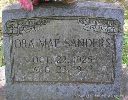 SANDERS, ORA MAE - Scott County, Arkansas | ORA MAE SANDERS - Arkansas Gravestone Photos