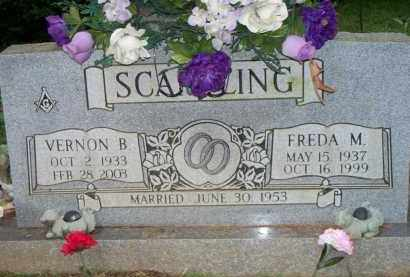 SCANTLING, FREDA M - Scott County, Arkansas | FREDA M SCANTLING - Arkansas Gravestone Photos