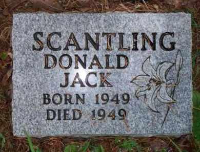 SCANTLING, DONALD JACK - Scott County, Arkansas | DONALD JACK SCANTLING - Arkansas Gravestone Photos