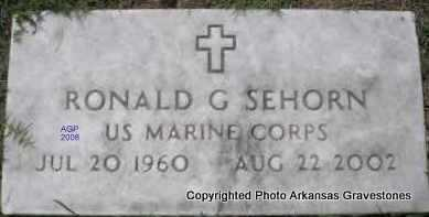 SEHORN  (VETERAN), RONALD G - Scott County, Arkansas | RONALD G SEHORN  (VETERAN) - Arkansas Gravestone Photos
