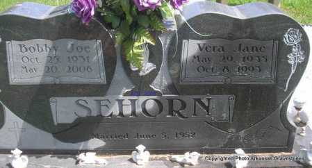 SEHORN, BOBBY JOE - Scott County, Arkansas | BOBBY JOE SEHORN - Arkansas Gravestone Photos