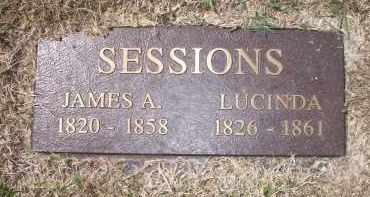 SESSIONS, JAMES A - Scott County, Arkansas | JAMES A SESSIONS - Arkansas Gravestone Photos
