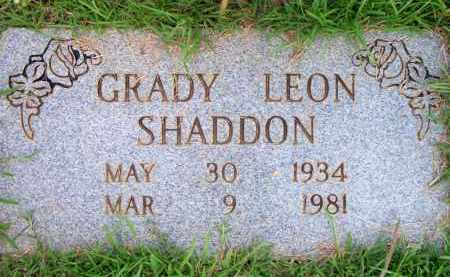 SHADDON, GRADY LEON - Scott County, Arkansas | GRADY LEON SHADDON - Arkansas Gravestone Photos