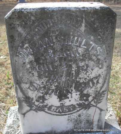 SHULTS, ORBAN - Scott County, Arkansas | ORBAN SHULTS - Arkansas Gravestone Photos