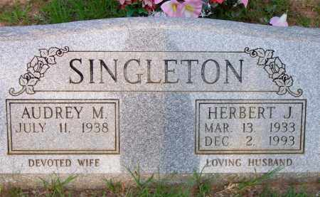SINGLETON, HERBERT J - Scott County, Arkansas | HERBERT J SINGLETON - Arkansas Gravestone Photos