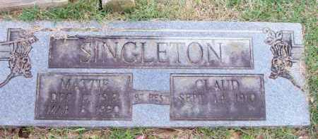 SINGLETON, MATTIE - Scott County, Arkansas | MATTIE SINGLETON - Arkansas Gravestone Photos