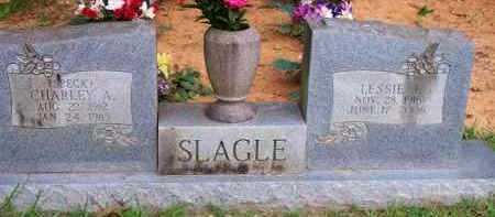 SLAGLE, LESSIE J - Scott County, Arkansas | LESSIE J SLAGLE - Arkansas Gravestone Photos