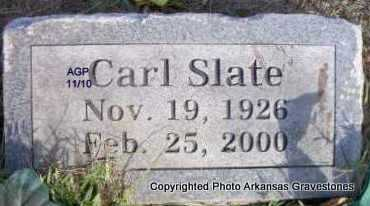 SLATE, CARL - Scott County, Arkansas | CARL SLATE - Arkansas Gravestone Photos