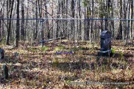 *SLOVER OVERVIEW,  - Scott County, Arkansas |  *SLOVER OVERVIEW - Arkansas Gravestone Photos