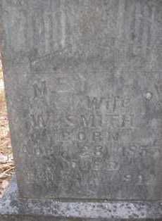 SMITH, M  E - Scott County, Arkansas | M  E SMITH - Arkansas Gravestone Photos