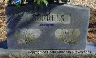 SORRELS, BEN D - Scott County, Arkansas | BEN D SORRELS - Arkansas Gravestone Photos