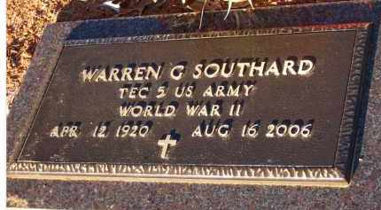 "SOUTHARD  (VETERAN WWII), WARREN G  ""DICK"" - Scott County, Arkansas 