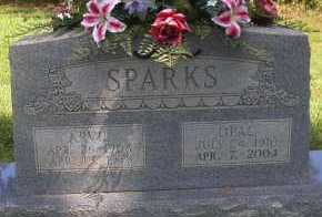 SPARKS, OPAL - Scott County, Arkansas | OPAL SPARKS - Arkansas Gravestone Photos
