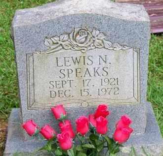 SPEAKS, LEWIS N - Scott County, Arkansas | LEWIS N SPEAKS - Arkansas Gravestone Photos