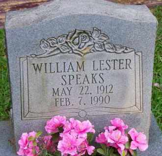 SPEAKS, WILLIAM LESTER - Scott County, Arkansas | WILLIAM LESTER SPEAKS - Arkansas Gravestone Photos
