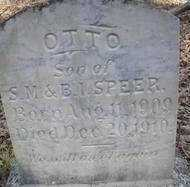 SPEER, OTTO - Scott County, Arkansas | OTTO SPEER - Arkansas Gravestone Photos