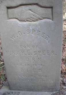SPEER, W C - Scott County, Arkansas | W C SPEER - Arkansas Gravestone Photos
