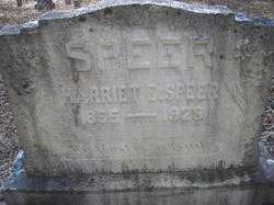 SPEER, HARRIET E - Scott County, Arkansas | HARRIET E SPEER - Arkansas Gravestone Photos