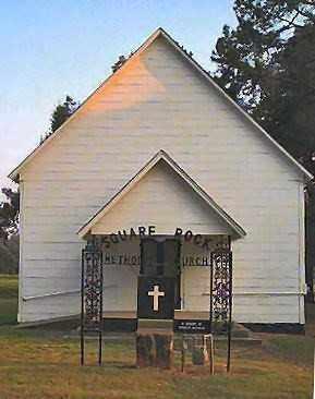 *SQUARE ROCK METHODIST CHURCH,  - Scott County, Arkansas |  *SQUARE ROCK METHODIST CHURCH - Arkansas Gravestone Photos