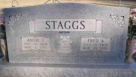 STAGGS, ANNIE ISABELL - Scott County, Arkansas | ANNIE ISABELL STAGGS - Arkansas Gravestone Photos