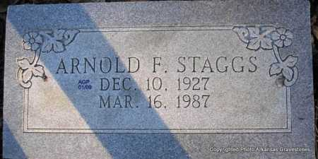 STAGGS, ARNOLD F - Scott County, Arkansas | ARNOLD F STAGGS - Arkansas Gravestone Photos