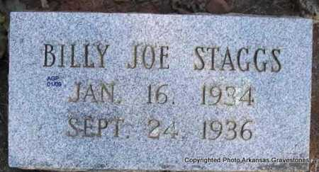 STAGGS, BILLY JOE - Scott County, Arkansas | BILLY JOE STAGGS - Arkansas Gravestone Photos