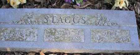 STAGGS, ALICE - Scott County, Arkansas | ALICE STAGGS - Arkansas Gravestone Photos