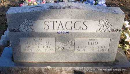 RICHEY STAGGS, NELLIE M - Scott County, Arkansas | NELLIE M RICHEY STAGGS - Arkansas Gravestone Photos