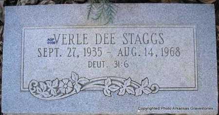 STAGGS, VERLE DEE - Scott County, Arkansas | VERLE DEE STAGGS - Arkansas Gravestone Photos