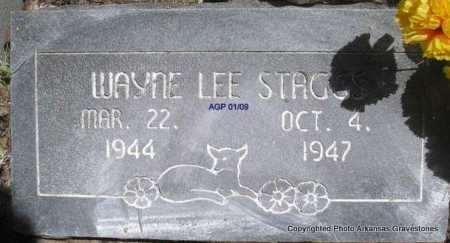 STAGGS, WAYNE LEE - Scott County, Arkansas | WAYNE LEE STAGGS - Arkansas Gravestone Photos