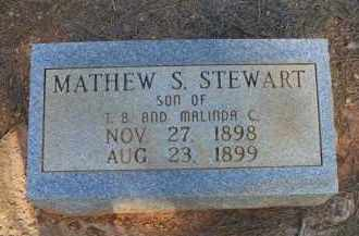 STEWART, MATHEW S - Scott County, Arkansas | MATHEW S STEWART - Arkansas Gravestone Photos