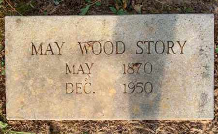 STORY, MAY - Scott County, Arkansas | MAY STORY - Arkansas Gravestone Photos