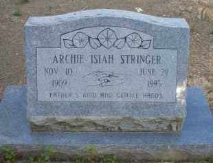 STRINGER, ARCHIE ISIAH - Scott County, Arkansas | ARCHIE ISIAH STRINGER - Arkansas Gravestone Photos