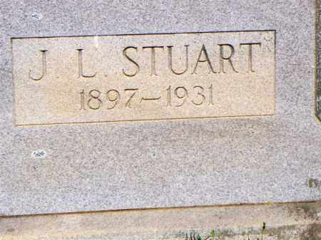 STUART  (2ND STONE), J L - Scott County, Arkansas | J L STUART  (2ND STONE) - Arkansas Gravestone Photos