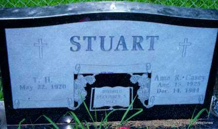 STUART, AMA R - Scott County, Arkansas | AMA R STUART - Arkansas Gravestone Photos
