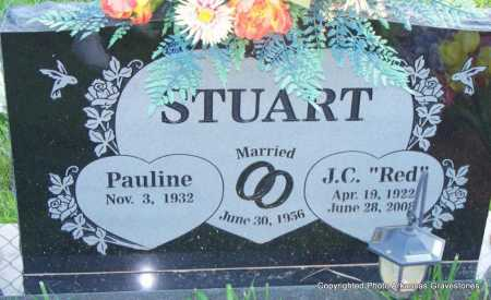 "STUART, J C  ""RED"" - Scott County, Arkansas 