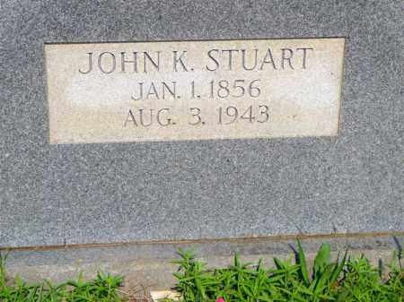 STUART, JOHN K - Scott County, Arkansas | JOHN K STUART - Arkansas Gravestone Photos