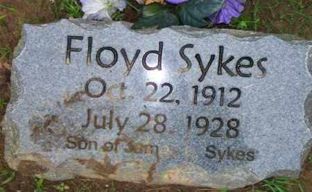 SYKES, FLOYD - Scott County, Arkansas | FLOYD SYKES - Arkansas Gravestone Photos