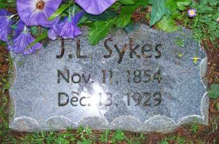 SYKES, J L - Scott County, Arkansas | J L SYKES - Arkansas Gravestone Photos