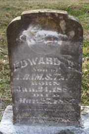 TAFF, EDWARD B - Scott County, Arkansas | EDWARD B TAFF - Arkansas Gravestone Photos