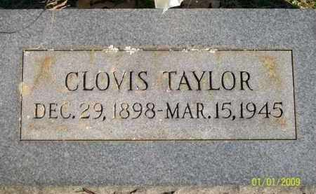 TAYLOR, CLOVIS - Scott County, Arkansas | CLOVIS TAYLOR - Arkansas Gravestone Photos