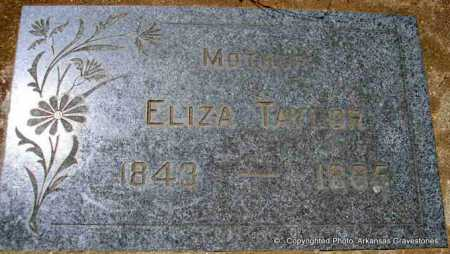 TAYLOR, ELIZA - Scott County, Arkansas | ELIZA TAYLOR - Arkansas Gravestone Photos